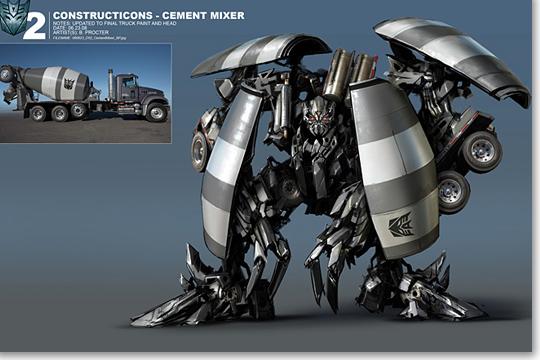 Ben Procter S Transformers 2 Concept Art