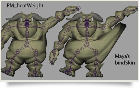 mirror skin weights script maya theater