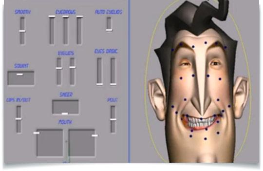 Maya Facial Rig 95
