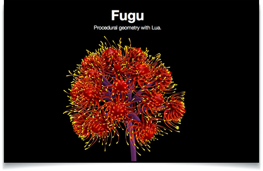 Fugu Open Source For Procedurally Generating Animated