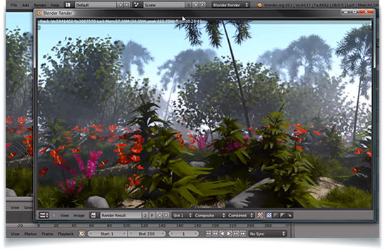 Creating a realistic tropical landscape in blender for Creating a landscape