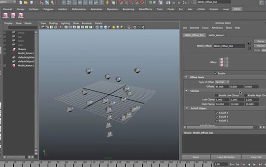 MASH-for-MAya-motion-graphic-design-Nodes