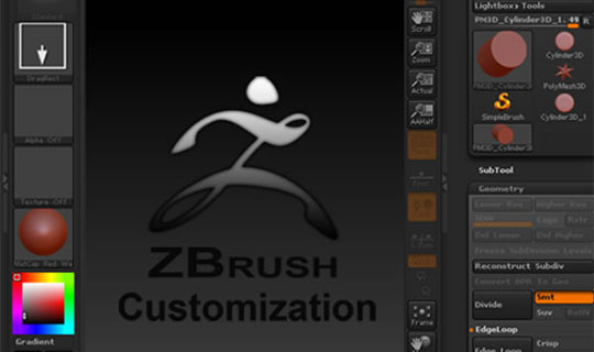 A-Basic-Introduction-to-Working-with-&-Customizing-ZBrush-Tutorial