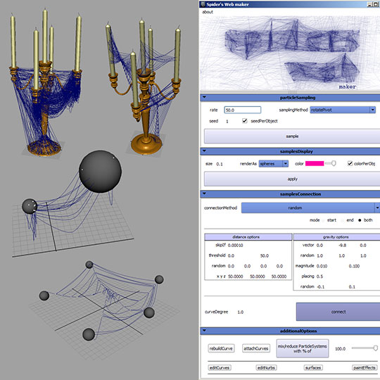 Web Spider Tool Spider Web Creation Tool