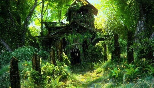 Maya-forest-PaintFX-mental-ray-tutorial
