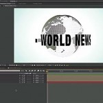 After Effects | Creating a Stylized Spinning 3D Globe With Native AE tools