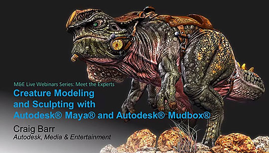 Mudbox | Creature Modeling and Sculpting Techniques