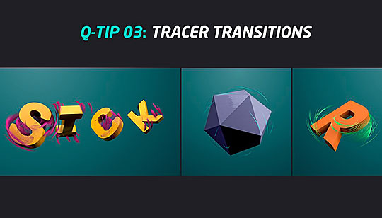 Cinema 4D | Using the Tracer Object for Easy Object Transitions