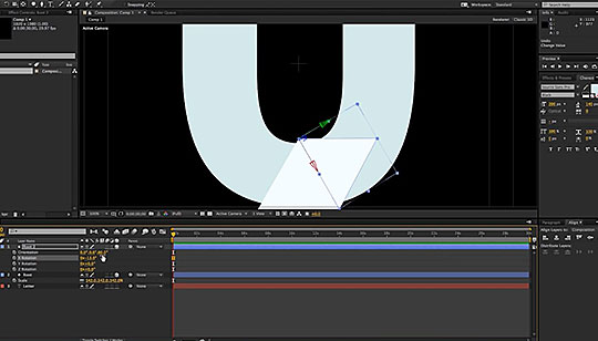 After Effects | Creating Animation With Unfolding Triangles