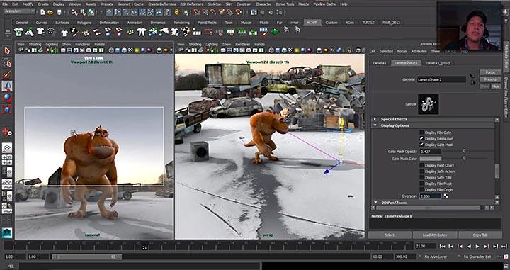 Afbeeldingen van Pan and Zoom Adobe After Effects