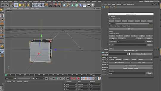 Cinema 4D | A Look at TradigiTOOLs, Providing a More Traditional Workflow for Animation
