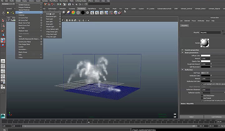Creating a Small Scale Explosion Effect With Maya