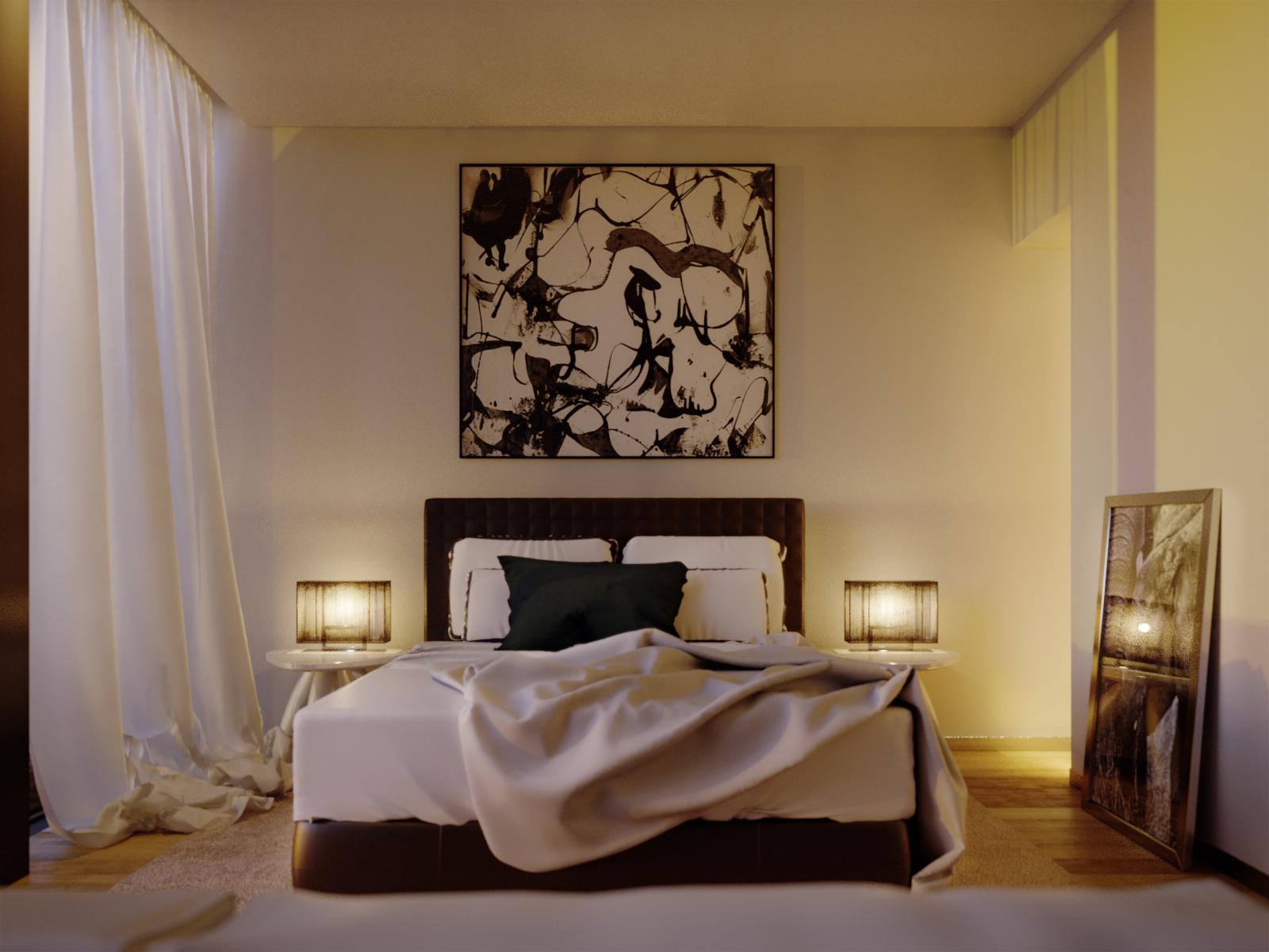 lighting and rendering the corona render c4d interior scene lesterbanks. Black Bedroom Furniture Sets. Home Design Ideas