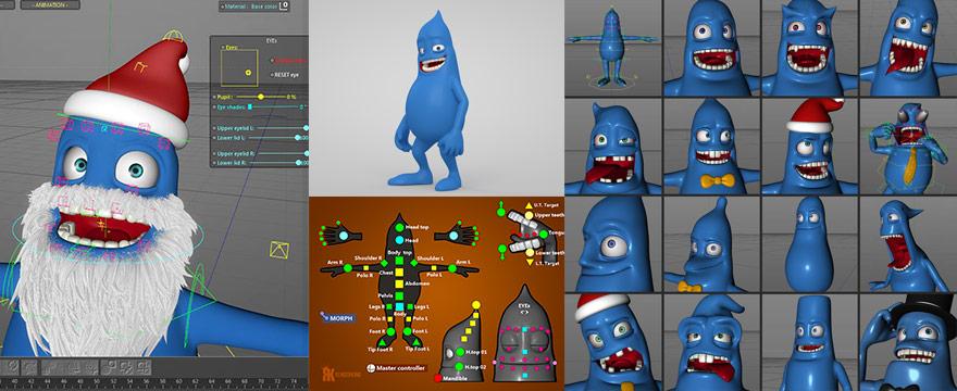 Character Rig Cinema 4d Torrent - safarilittle