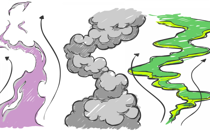 Smoke cycles