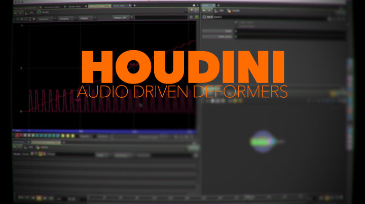 Audio Driven Deformations in Houdini