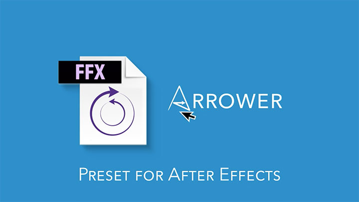 Easily Create Arrows in Ae using the Arrower Preset