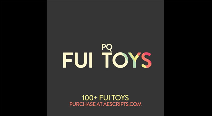 FUI Toys Offers a pack of 100+ Customizable Fake User Interface Assets