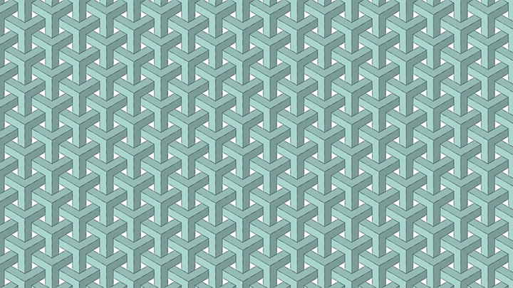 Recreate the Goyard Chevron Pattern in C4D