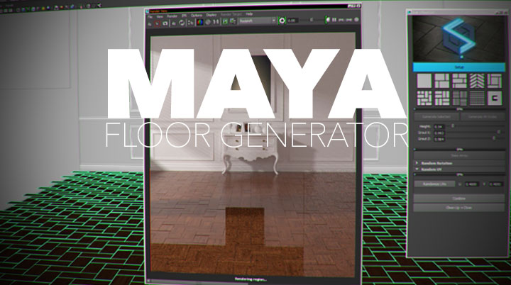 Create Floors in a Snap in Maya With SLiB Floor Generator ...