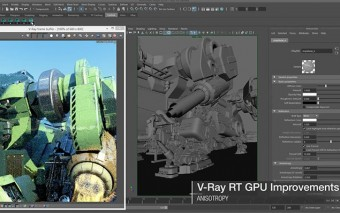 V-Ray 3.1 Adds Maya 2016 Support With Over 100 New & Modified Features
