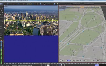 Use Google Map Reference for Tracking Areal Footage in SynthEyes