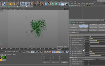 Creating a Realistic Tree, Using Forester for C4D