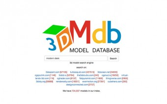 Looking for a 3D Model? Try the 3D Model Database, a Search Engine for 3D Content