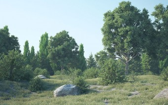 3D Quakers Releases Forester for Cinema 4D