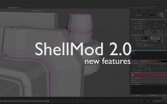 Sneak Look at ShellMod 2 for Maya