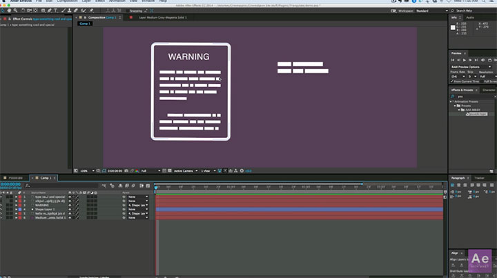 Creating Fake Type for Infographics Animation in After ...