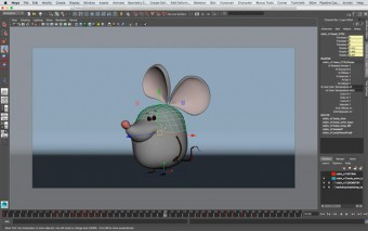 Creating & Deforming Control Surfaces for a Character in Maya