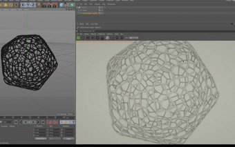 Getting Started Using the Free Dual Graph Voronoi C4D Plugin