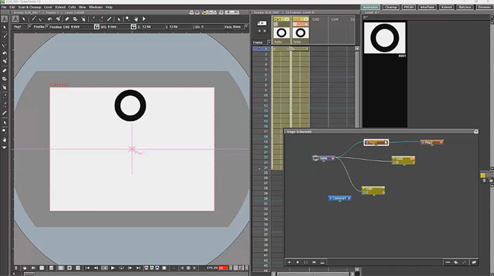 Getting Started With Opentoonz Free Animation Production