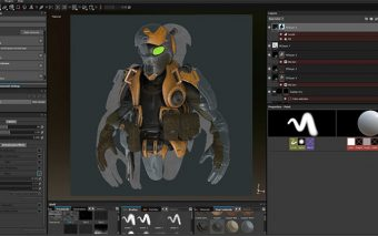Substance Painter: No UV's? No Geometry? …No Problem