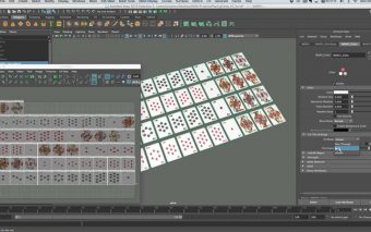 Working With UDIMs in MASH for Maya