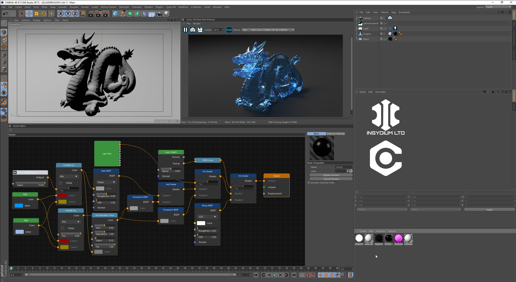 Blender Cycles for Cinema 4D
