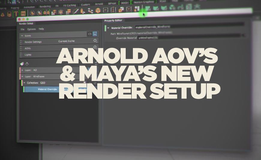 maya arnold how to make transparent stuff