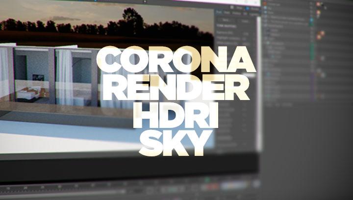Hdri and corona render