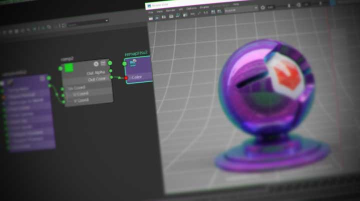 Working With Iridescence And Thin Film Effects In Redshift