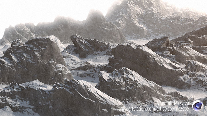 Get These 22 Free Detailed Mountain Assets for Cinema 4D