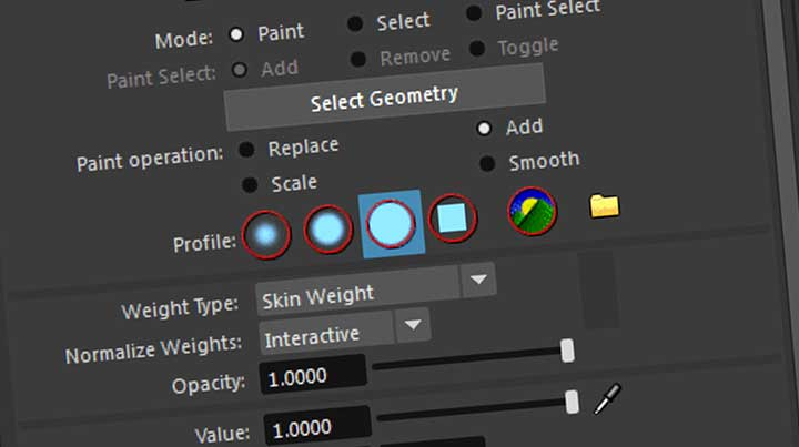 11 Tips for Painting Weights in Maya
