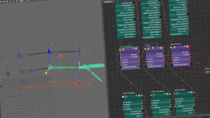 how to create null nodes in maya