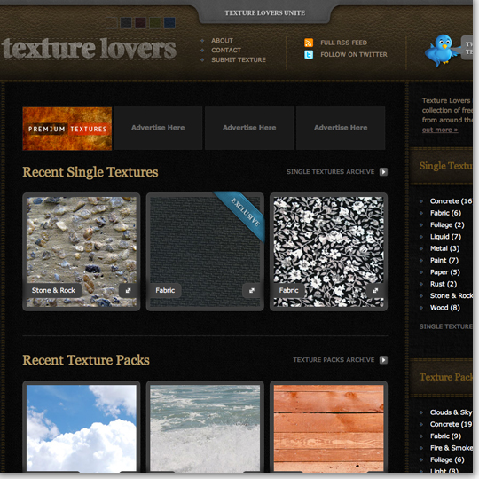 Texture Lovers A Site Of Free Textures From Around The Web