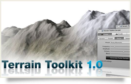 terrain toolkit for unity 3d released