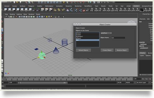 maya QT interface tutorial