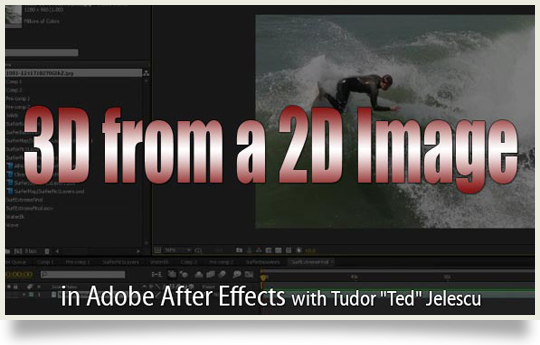 3d from 2d images using displacement maps in after effects Displacement Map After Effects on
