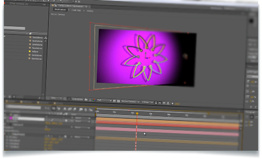 Shatter parameters: adobe after effects.