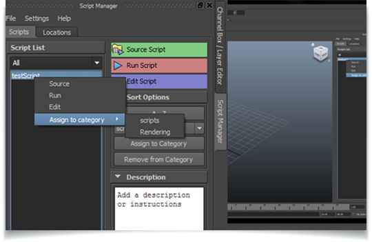 Maya ml_scriptManager Manage & Sort Scripts From Multiple