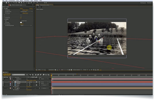 FILMOFON's Jan Míka looks at converting 2D image to 3D using camera mapping technique in After Effects to create a camera move on a still image